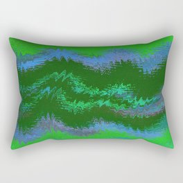 NINETY KILOMETERS ABOVE THE FORESTS OF ZARA TWO Rectangular Pillow