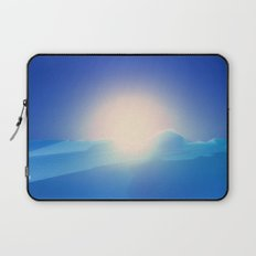 Ice Cold Blue Laptop Sleeve