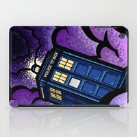 tardis iPad Cases featuring Tardis by Jelly Soup Studios