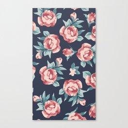 Vitage Roses Canvas Print