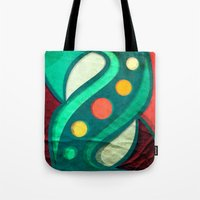 planets Tote Bags featuring Planets by VessDSign
