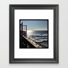 Ocean. Framed Art Print