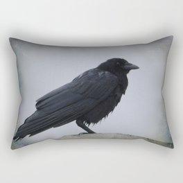 Wet Crow Rectangular Pillow