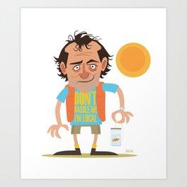 What About Bob? Art Print