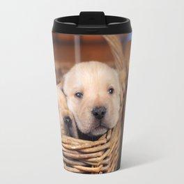 Puppies Labrador Retriever Travel Mug