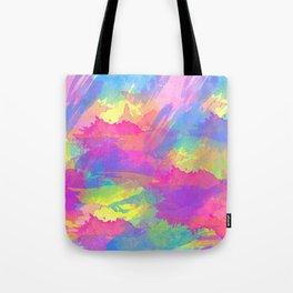 Water Colour Brush Pattern Tote Bag