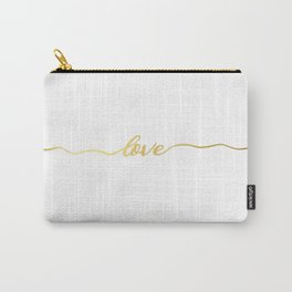 golden love Carry-All Pouch