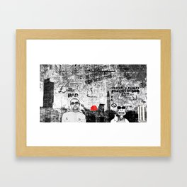 Lose Weight, Stop Worrying, Be confident Framed Art Print
