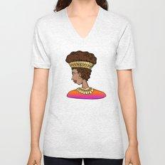 Nubian Beauty Unisex V-Neck