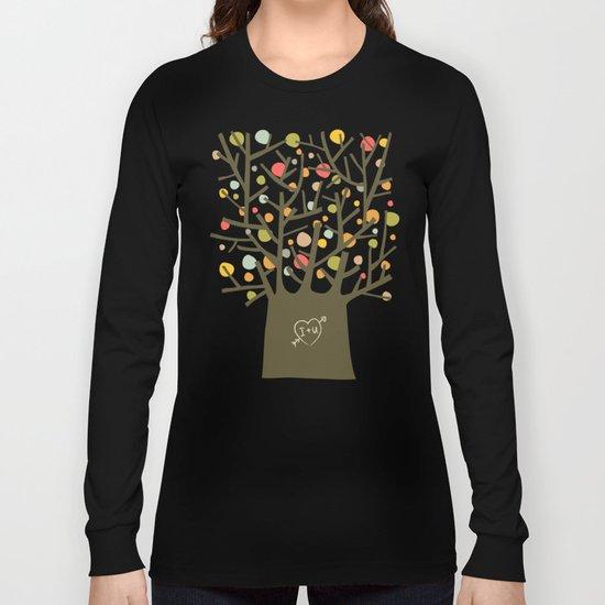 "The ""I love you"" tree Long Sleeve T-shirt"
