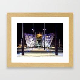 Belfast Maritme Quarters Framed Art Print