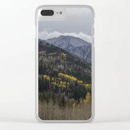 Wasatch Fall Clear iPhone Case