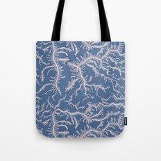 Ferning - Pink/Blue Tote Bag