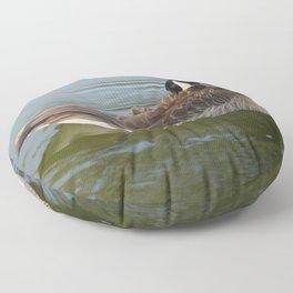 Canadian Goose Floor Pillow