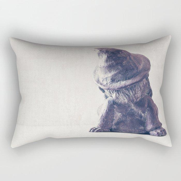 Gnome Life Rectangular Pillow