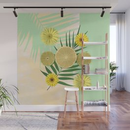 Tropical fruit Wall Mural