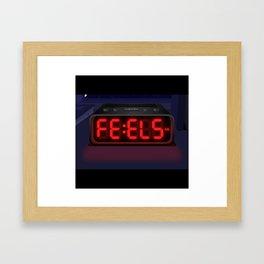 Feels O'clock Framed Art Print