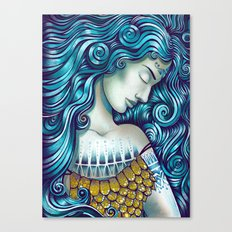 Calypso Sleeps Canvas Print