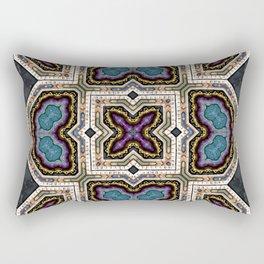 Victorian Art Deco Medieval Pattern SB 37 Rectangular Pillow
