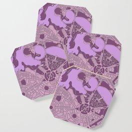 Purple LBG Coaster