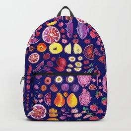 Red Garden Bleu Backpack