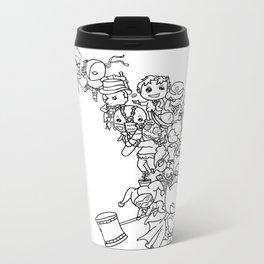 The Hero This City Deserves (Ink) Metal Travel Mug