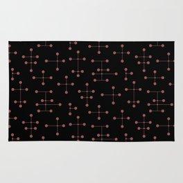 Atomic Era Dots 131 Rug