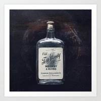 whiskey Art Prints featuring Whiskey by F2images