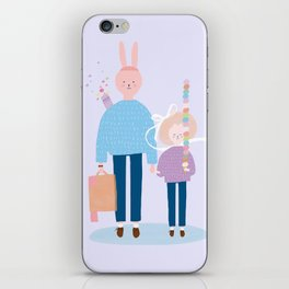 An ice-cream cone iPhone Skin