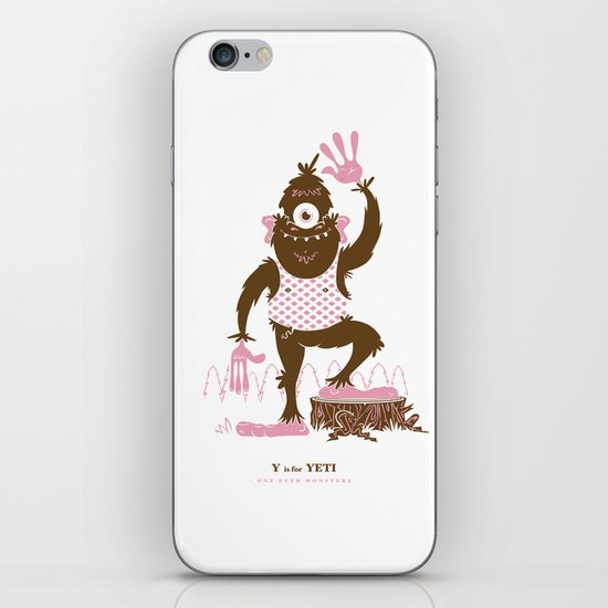 Y is for Yeti iPhone & iPod Skin