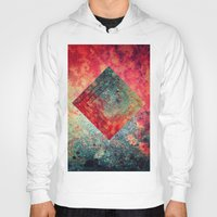 square Hoodies featuring Random Square by Esco