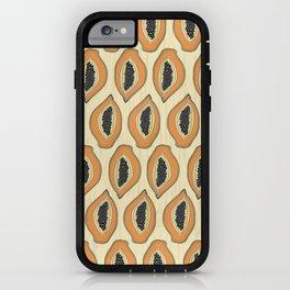 Papayas iPhone Case