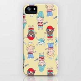 CUTE KIDS PIRATE PARTY iPhone Case