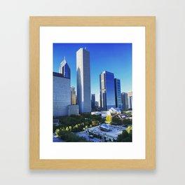 Spring Days in Chicago Framed Art Print