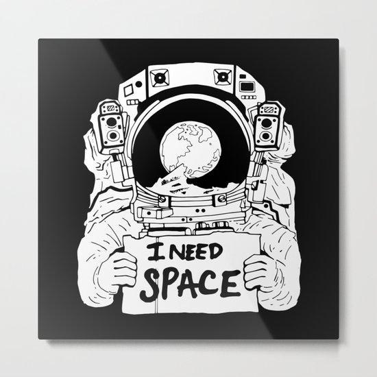 Major Spaceman Metal Print
