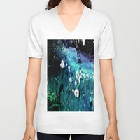 coconut wishes V-neck T-shirts featuring Wishes by Nev3r