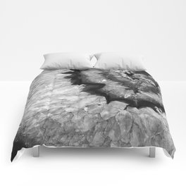 Black and White Crystal Comforters