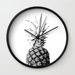 Pineapple 01 Wall Clock