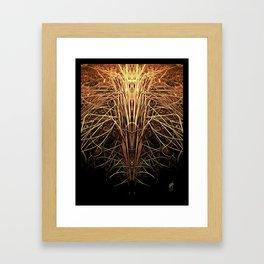 Essence of Gold Framed Art Print