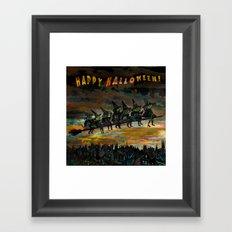 Night Flying.  Framed Art Print