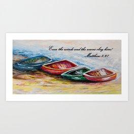 Even the Winds and Waves Kunstdrucke