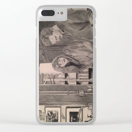 Fifty Shades Darker (In the kitchen) Clear iPhone Case