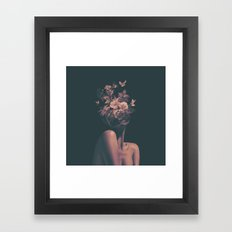 Dead Flowers Framed Art Print