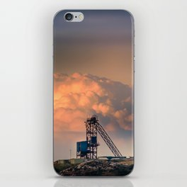 Old Copper Mine on Anglesey iPhone Skin