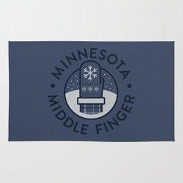 Minnesota Middle Finger Rug