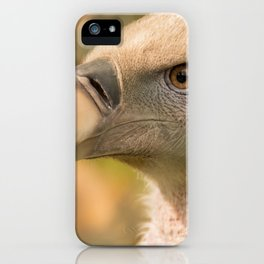 White Vulture iPhone Case
