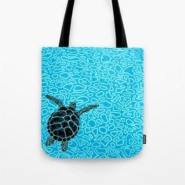 Sea Turtle by Black Dwarf Designs Tote Bag