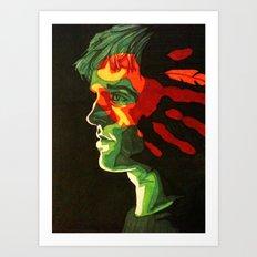 War Paint Art Print
