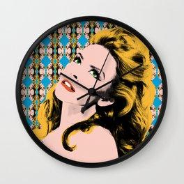 Pop Queens -  Kylie Wall Clock