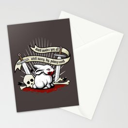 The Rabbit of Caerbannog Stationery Cards
